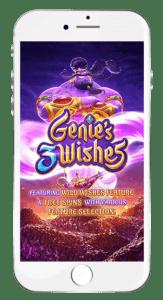 สล็อต ทดลองเล่น ทุกค่าย ไม่ต้องฝาก Genie's 3 Wishes