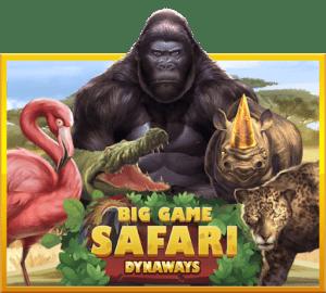 ทดลองเล่นสล็อต JOKER Big Game Safari