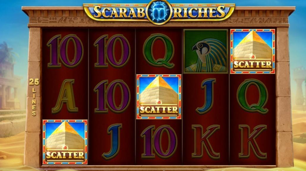 เกมสล็อตน่าเล่น Scarab Riches