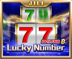 เกม LUCKY NUMBER จากค่าย JILI