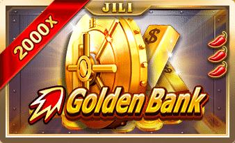 ทดลองเล่นฟรี Golden Bank ธนาคารสล็อตทองคำ