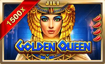 ทดลองเล่นฟรี Golden Queen สล็อตทุนน้อยก็แตกได้